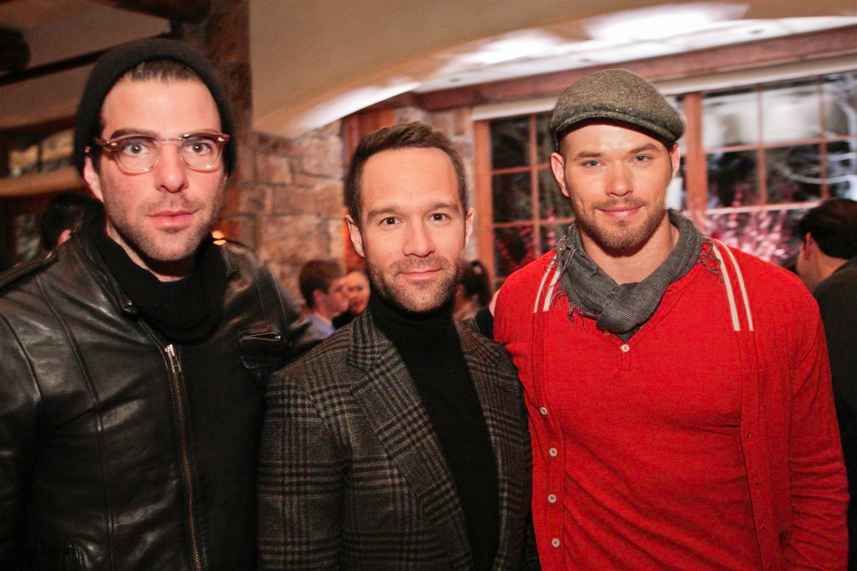 Zachary Quinto Chris Diamantopoulos Kellan Lutz 2
