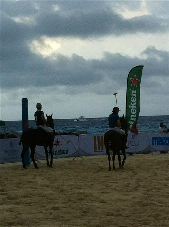 Cancun Beach Polo Tournament