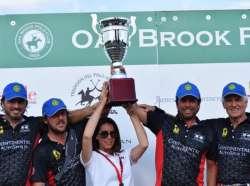 "Oak Brook Polo Club's Team Ferrari Defeats Team Maserati in ""Horses & Horsepower"" Polo Match"