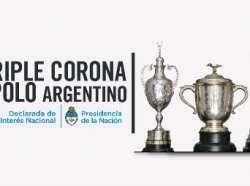 Interés Nacional 2018 La Triple Corona del Polo Argentino fue declarada de Interés Nacional.