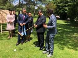 Newsletter N° 150: Regalo al presidente de China / Fecha 7 125° Ab. de Polo / II Abierto Femenino / Copa Cámara de Dip. / Torneo Nac. de Menores.