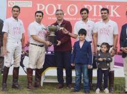 Remington Pharma win 'Polo in Pink' trophy